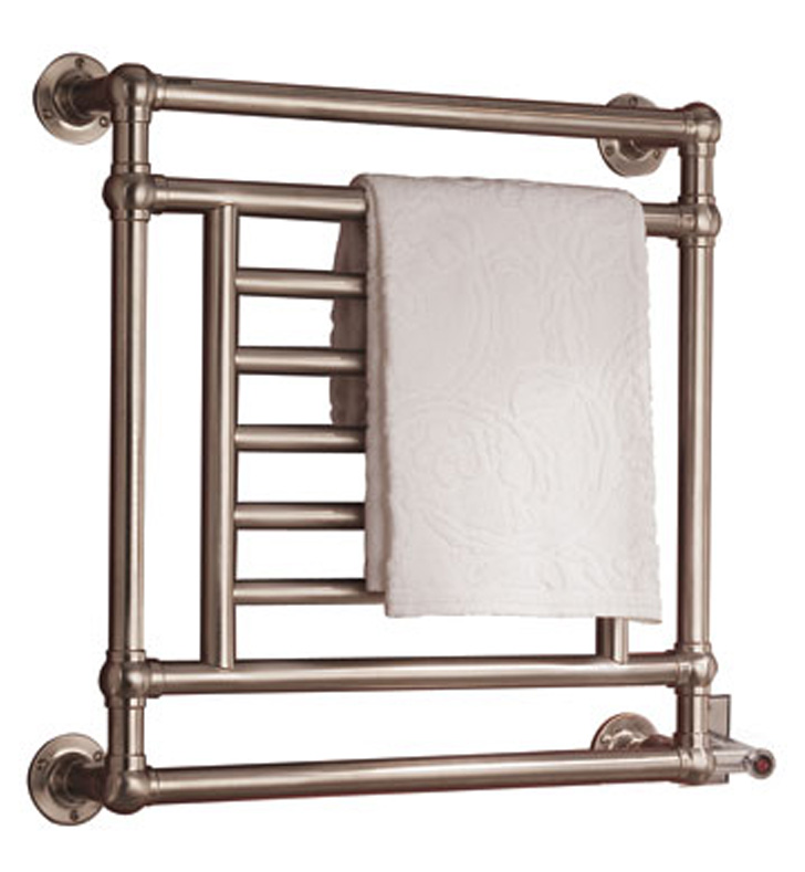 Decorative Towel Warmers : Myson eb salmon traditional electric towel warmer