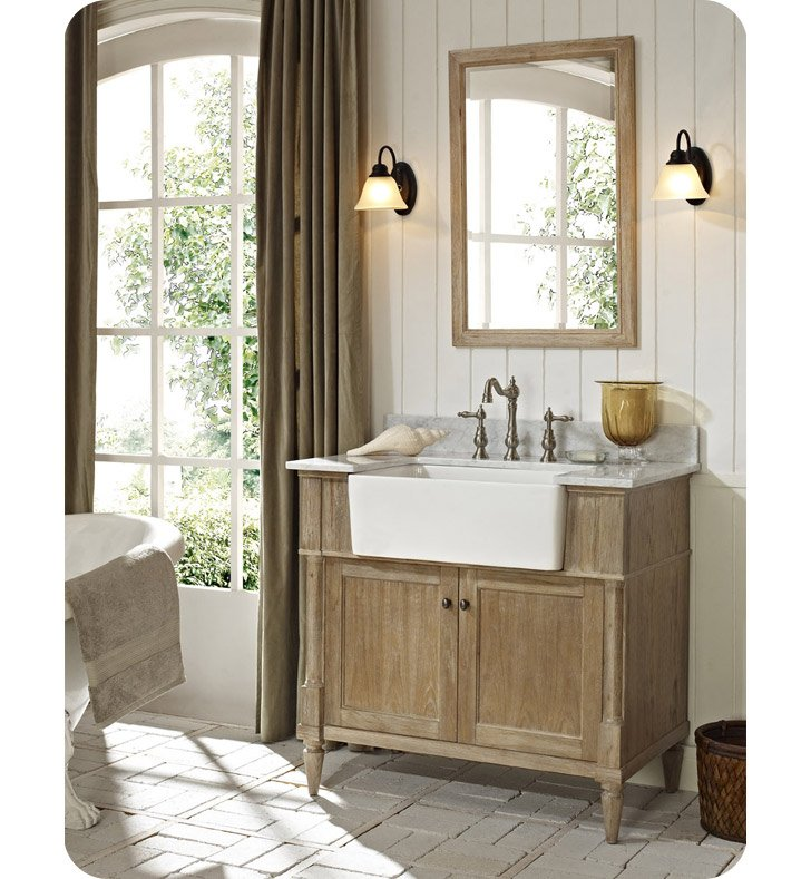 Fairmont designs 142 fv36 rustic chic 36 farmhouse modern for Decorplanet bathroom vanities