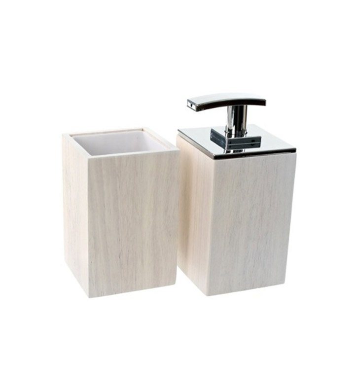 Nameeks pa581 02 gedy bathroom accessory set for Bathroom accessories location