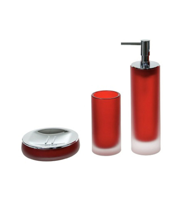 Nameeks ti280 06 gedy bathroom accessory set for Bathroom accessories location