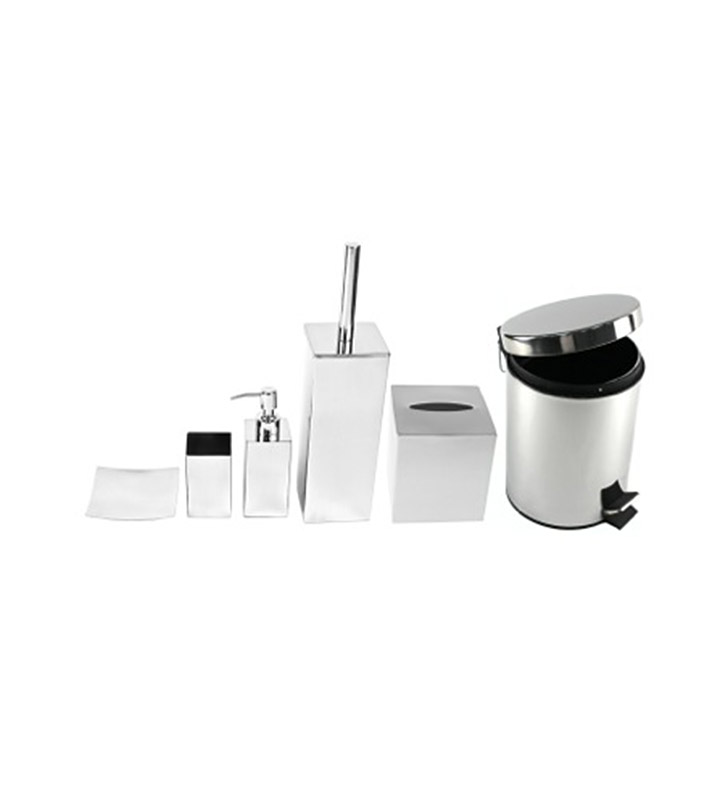 Nameeks ne1011 gedy bathroom accessory set for Bathroom accessories location