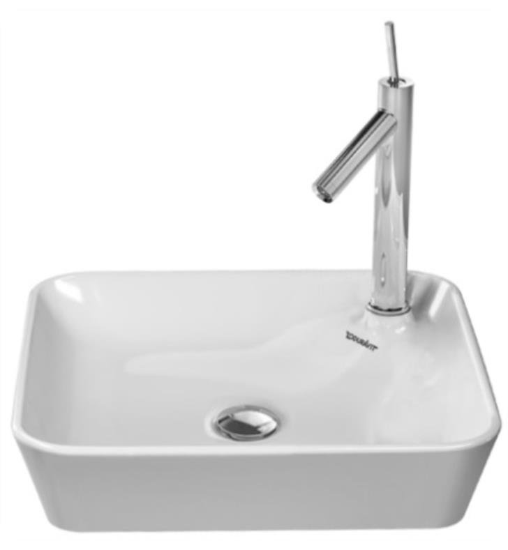 Duravit 23224600001 Starck 1 18 1 8 Quot Vessel Bathroom Sink