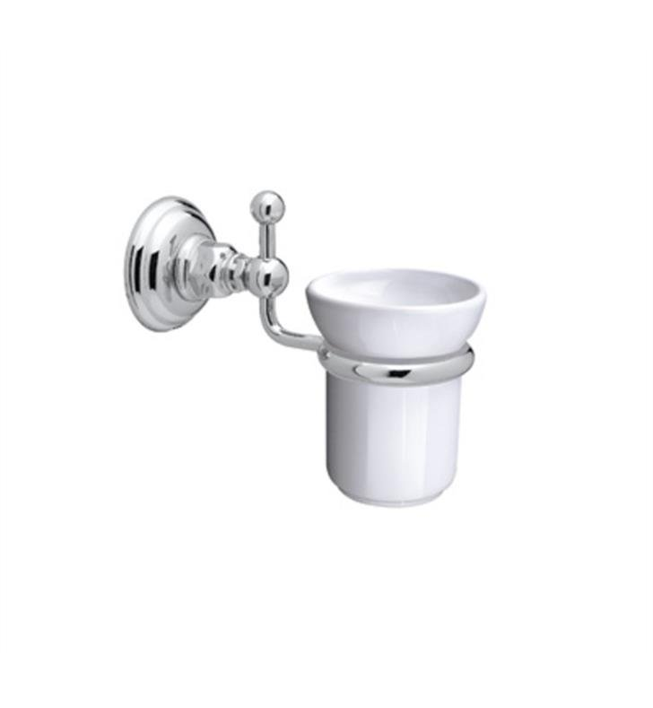 Polished nickel bathroom accessories
