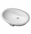 Duravit 0466510022 Undercounter Sink with Overflow - 20-1/2""