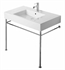 Duravit 0030711000 Vero Metal Console for Bathroom Sink 032985 with Adjustable Height in Chrome