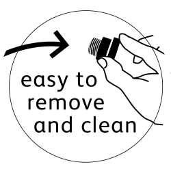 Easy To Remove and Clean