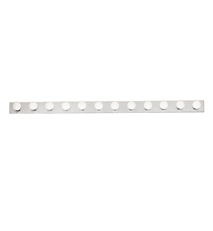 Kichler 632NI 12-Bulb Bathroom Strip Light in Brushed Nickel - Sold as a package of 2
