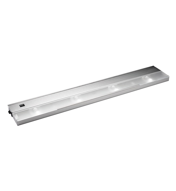 Kichler 12214SS Modular 4 Light Xenon 120v-20w in Stainless Steel