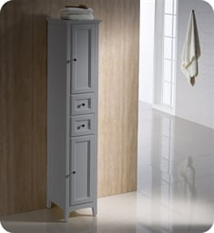 Fresca FST2060GR Oxford Grey Tall Bathroom Linen Cabinet