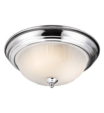Kichler 8654CH Flush Mount 2 Light in Chrome
