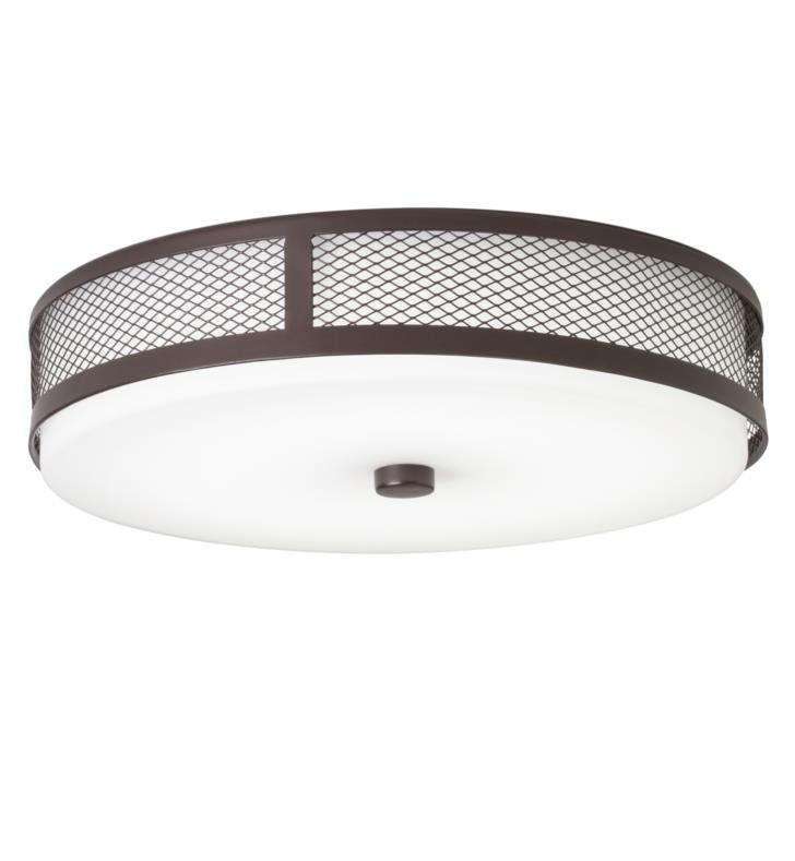 Kichler 42379OZ LED Flush Mount in Olde Bronze