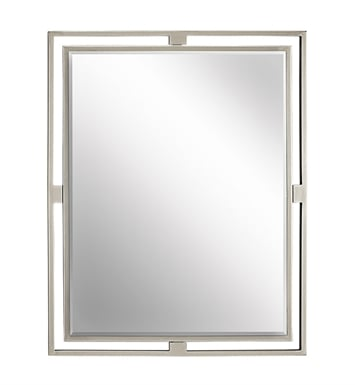Kichler 41071 Modern Rectangular Mirror from the Hendrik Collection