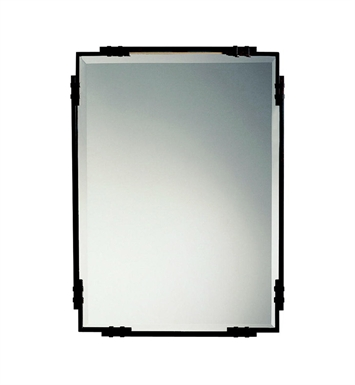 Kichler 41046TZ Tannery Bronze Transitional Rectangular Mirror from the Silverton Collection