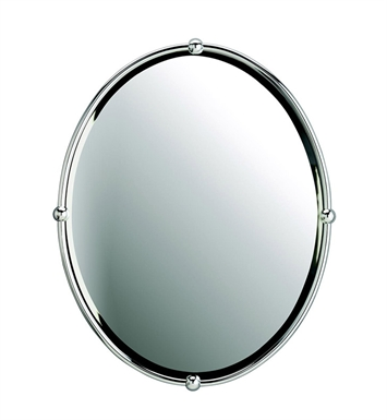 Kichler 41006CH Chrome Modern Oval Beveled Mirror
