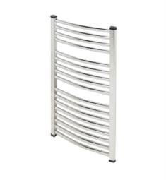 "Myson COC126 Classic Comfort 23 5/8"" Wall Mount D-Shaped Hydronic Towel Warmer"