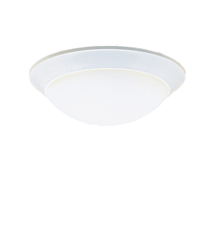 Kichler 8882WH Ceiling Space Collection Flush Mount 2 Light in White