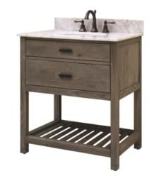 "Sagehill Designs BK3021D Blake 30"" Free Standing Single Bathroom Vanity with Open Bottom Shelf in Taupe"