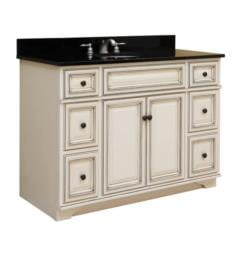 "Sagehill Designs SL4821D-AD Sanibel 48"" Free Standing Single Bathroom Vanity in Glazed White"