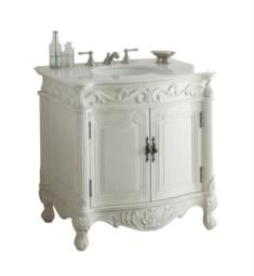 "Chans Furniture BC-2873W-AW Fiesta 31 1/2"" Freestanding Single Bathroom Vanity in Antique White"