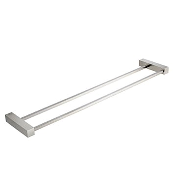 "Fresca FAC0439BN Ottimo 22"" Double Towel Bar in Brushed Nickel"