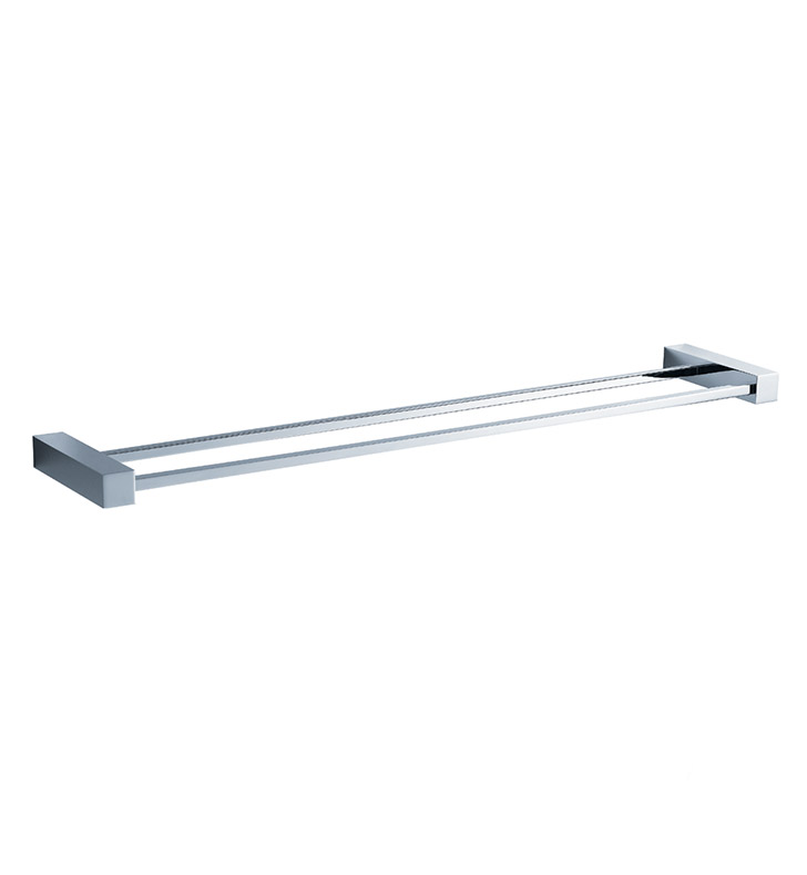 "Fresca FAC0440 Ottimo 26"" Double Towel Bar in Chrome"