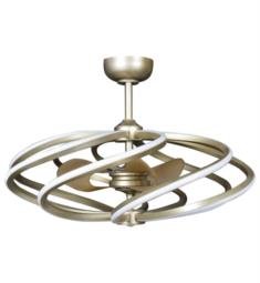 "Access Lighting 63114LEDD Vortex 8 Light 33 1/4"" Ceiling Mount Dedicated LED Pendant with Fan"
