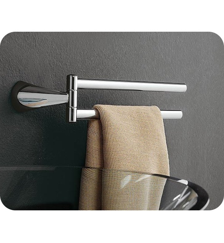 Nameeks 5519-dx-sx Toscanaluce Swivel Towel Bar