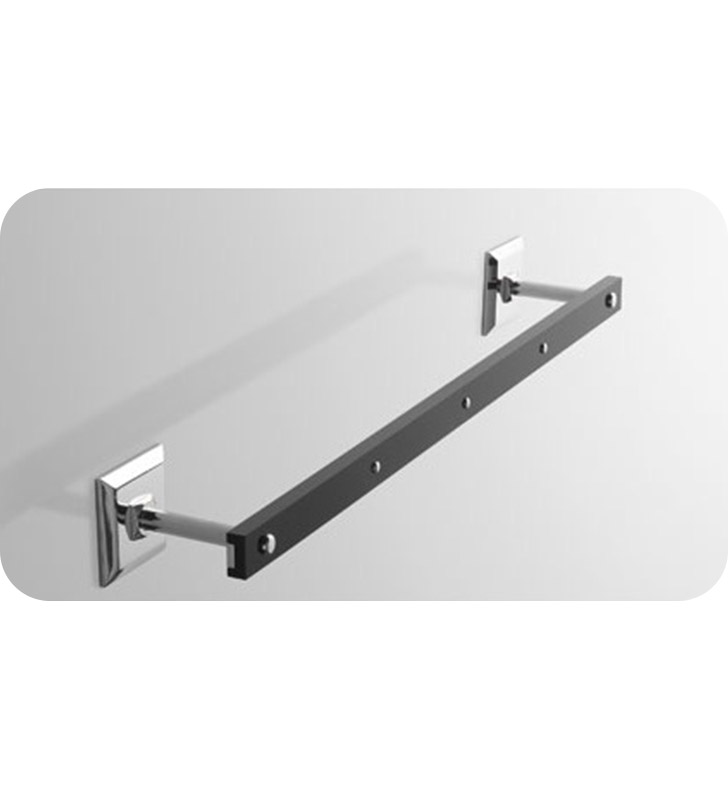 Nameeks G207-14 Toscanaluce Towel Bar With Finish: Black