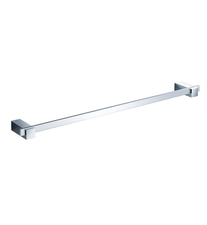 "Fresca FAC1437 Ellite 24"" Towel Bar in Chrome"