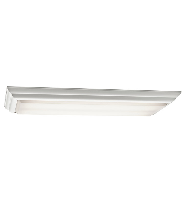 Kichler 10314WH Flush Mount 4 Light Fluorescent in White