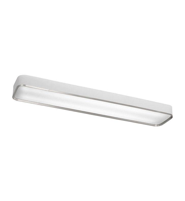 Kichler 10425BA Pira Collection Flush Mount 2 Light Fluorescent in Brushed Aluminum