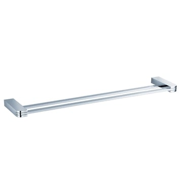 "Fresca FAC1339 Solido 20"" Double Towel Bar in Chrome"