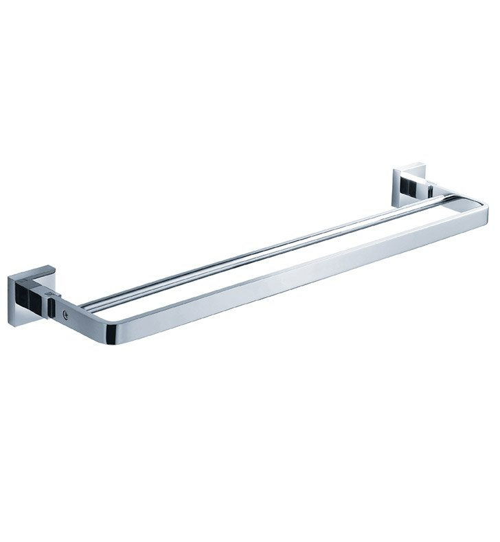 "Fresca FAC1139 Glorioso 20"" Double Towel Bar in Chrome"