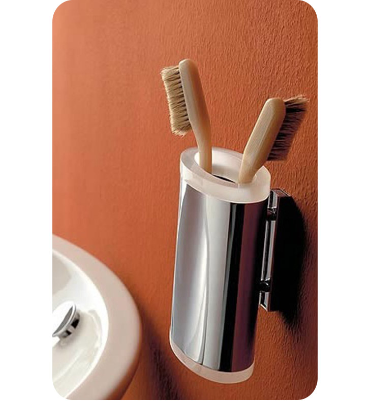 Nameeks 5502-14 Toscanaluce Toothbrush Holder With Finish: Black