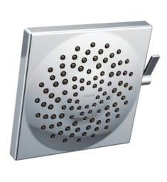 "Moen S6345 Velocity 8 1/2"" Wall Mount Multi-Function Rainshower Square Showerhead with Immersion Technology"