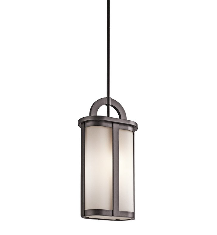 Kichler 49472AZ Outdoor Pendant 1 Light in Architectural Bronze