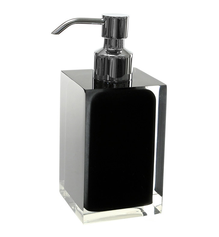 Nameeks RA81-14 Gedy Soap Dispenser With Finish: Black
