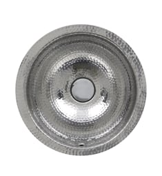 "Nantucket ROS-OF Brightwork Home 13"" Single Bowl Undermount Stainless Steel Round Bathroom Sink"
