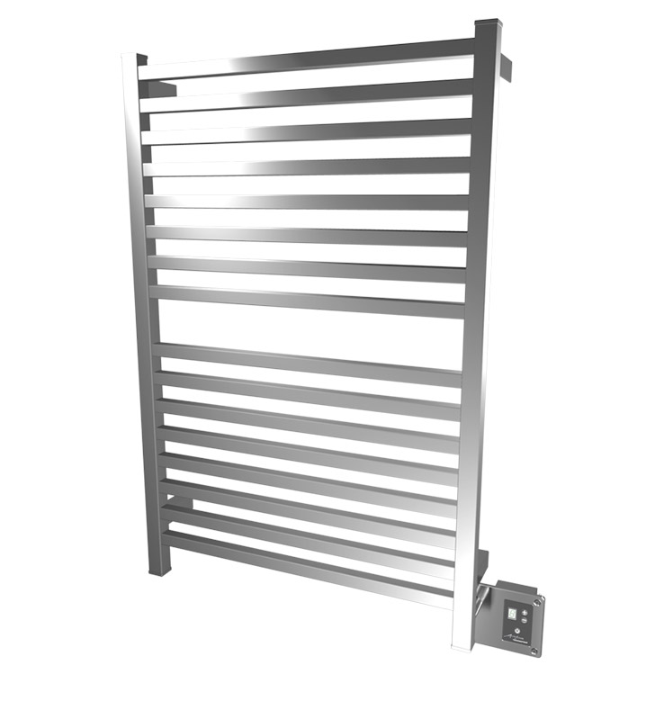Amba Q-2842B QUADRO Towel Warmer With Finish: Brushed