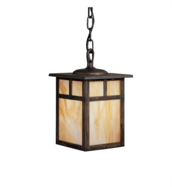 Kichler 9849CV Alameda 1 Light Incandescent Outdoor Hanging Pendant in Canyon View