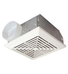 Craftmade TFV50 Builder 50 CFM Ceiling Mount Bathroom Exhaust Fan in White