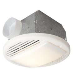 Craftmade TFV70L Builder 70 CFM Ceiling Mount Bathroom Exhaust Fan with Light in Designer White