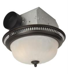 Craftmade TFV70L-DORB Decorative 70 CFM Ceiling Mount Bathroom Exhaust Fan with Light