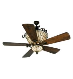 "Craftmade K10659 Cortana 5 Blades 54"" Indoor Ceiling Fan with LED Light Kit"