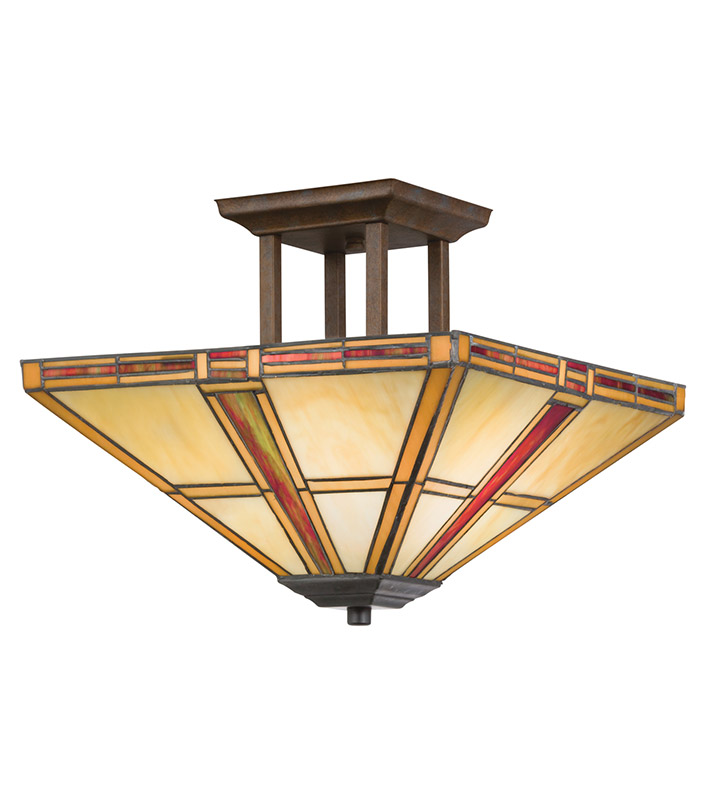 Kichler 69013 Semi Flush 2 Light