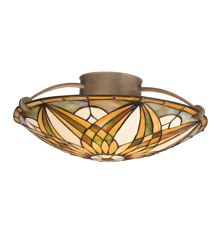 Kichler 69030 Sonora Collection Semi Flush 3 Light