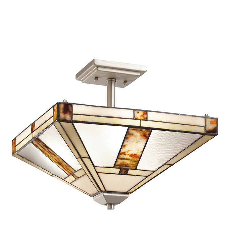 Kichler 69164 Bryce Collection Semi Flush 3 Light