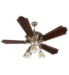 "Craftmade K11013 Toscana 5 Blades 56"" Indoor Ceiling Fan with CFL Light Kit in Classic Walnut and Vintage Madera"