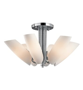 Kichler 42217CH Stella Collection Semi Flush 6 Light in Chrome