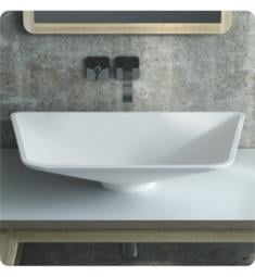 ICO B9211 Calma Firenzi Vessel Sink in White